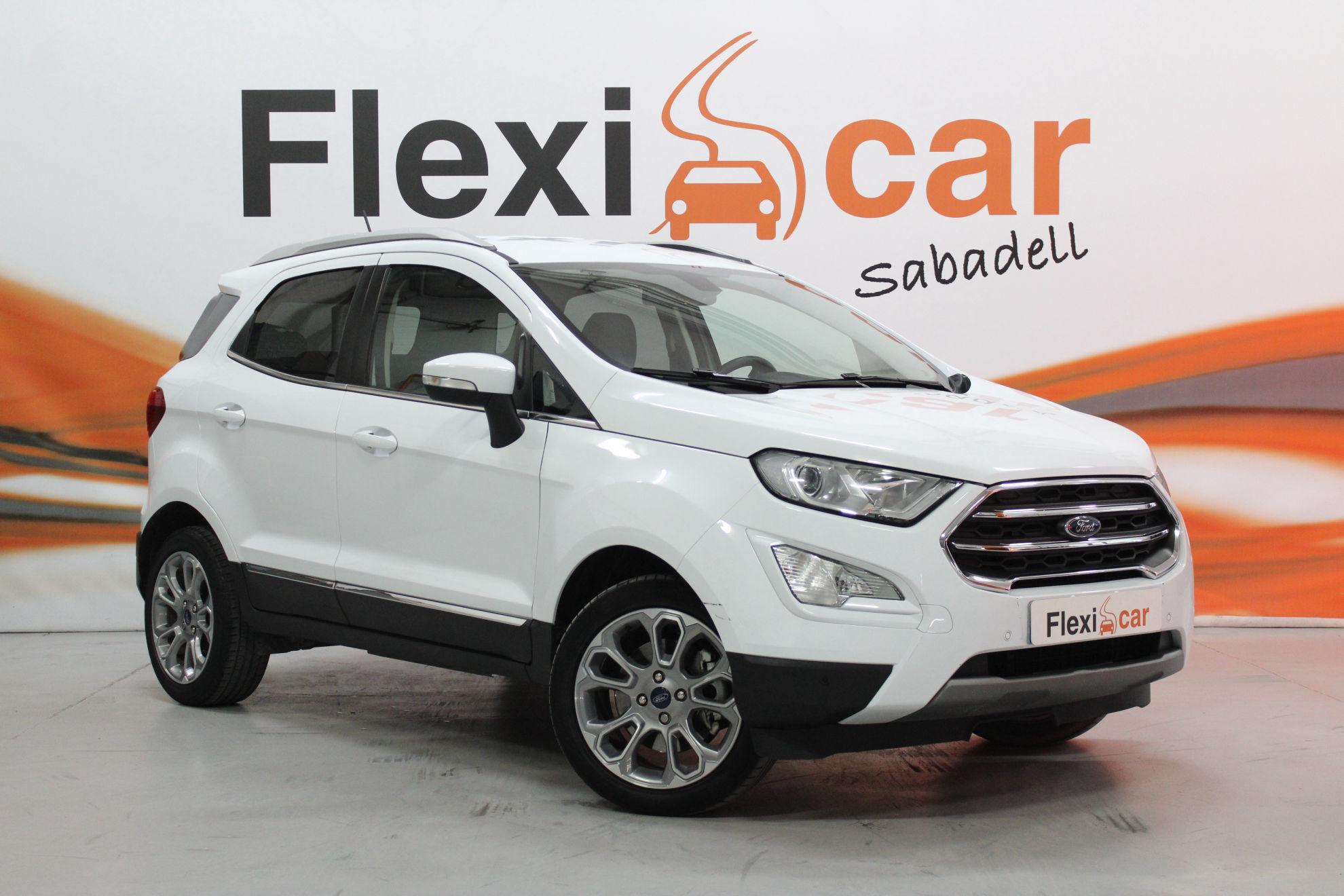 Coches ocasión Ford EcoSport