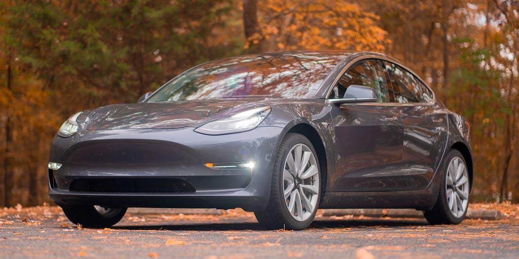 Tesla modelo S ejemplo de coches más seguros