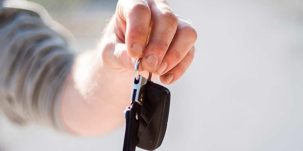 llaves de coche nuevo vendido