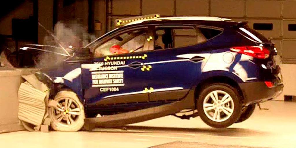 prueba de choque frontal Euro NCAP